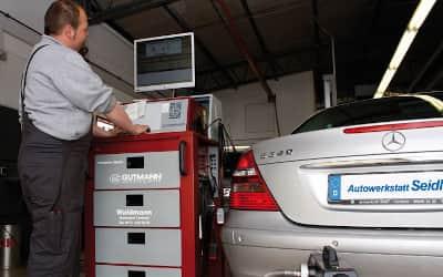 Dekra TÜV Tester Diagnose Mercedes VW Audi BMW Skoda Mini Abgasuntersuchung